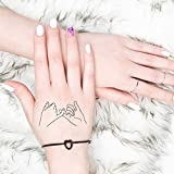 Pinky Promise - Temporary Tattoo (Set of 2)