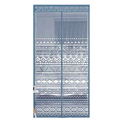 Mosquito curtain Magnetic Screen Door for 47