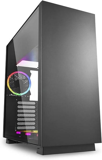 Sharkoon Pure Steel RGB - Caja de Ordenador, PC Gaming, Semitorre ...