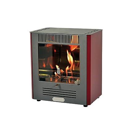 DIVINA Fire estufa de Bioetanol 2300 W quemador ajustable Calefacción Alpha