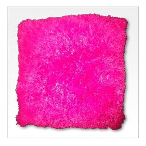 Samson cojín de pelo largo, color rosa: Amazon.es: Hogar