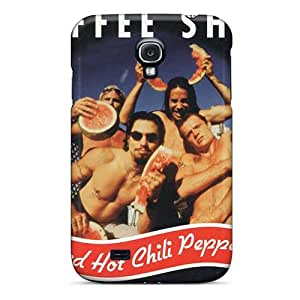 Durable Hard Phone Covers For Samsung Galaxy S4 (spu18152iKqI) Customized High Resolution Red Hot Chili Peppers Skin