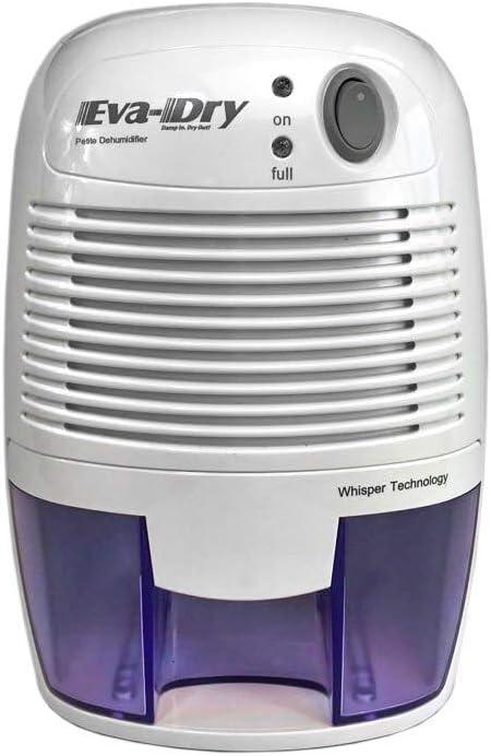 Eva-dry Edv-1100 Electric Petite Dehumidifier, White Renewed