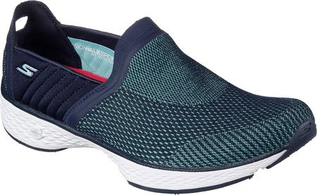 3d60bc41d8707 Skechers Women's Gowalk Sport Rush Walking Slip-On Navy/Aqua Size 12 ...