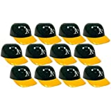 MLB Mini Batting Helmet Ice Cream Sundae/ Snack Bowls, A's - 12 Pack