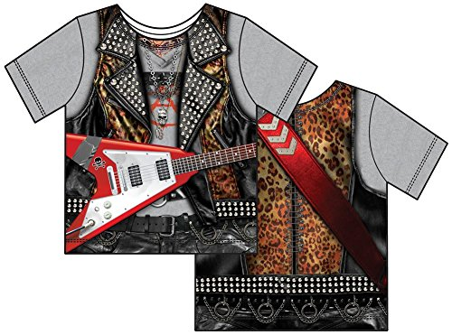 [Toddler: RockStar Costume Tee Baby T-Shirt Size 4T] (Rockstar Boys Costume)