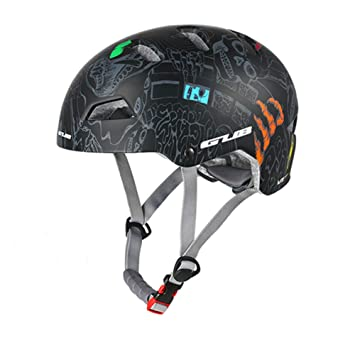 SLGJYY Redondas Mountain Bike Casco Hombres Mujeres Outdoor Skating Escalada Extreme Sport – Casco Racing Road