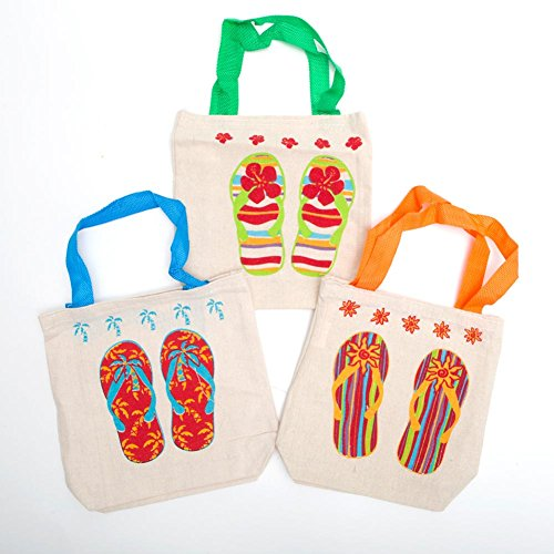 Fun Express Multicolor Handles Poly cotton