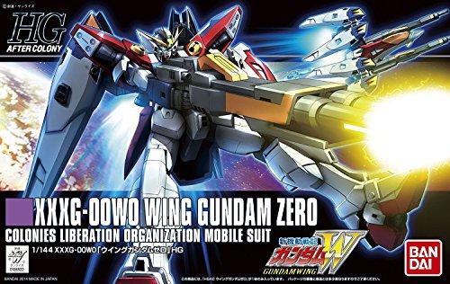 Bandai Hobby HGAC Wing Gundam Zero Model Kit (1/144 Scale)