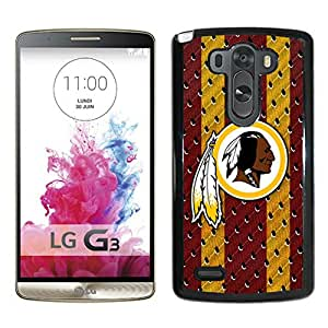 Washington Redskins 03 Black LG G3 Screen Phone Case Handmade and Durable Cover
