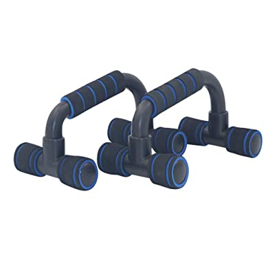 Winsummer Push Up Hand Grip Bars Push Up Stand Strength Training with Cushioned Foam Grips Portable for Home Fitness Training Push Up Stands Handle for Floor Workouts: Sports & Outdoors