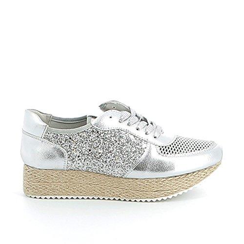 Misstic - Zapatillas de Deporte de Material Sintético Mujer plata