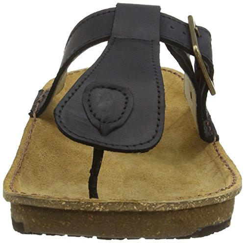 El Naturalista Contradicion El, Men's Open-Toe Sandals Black
