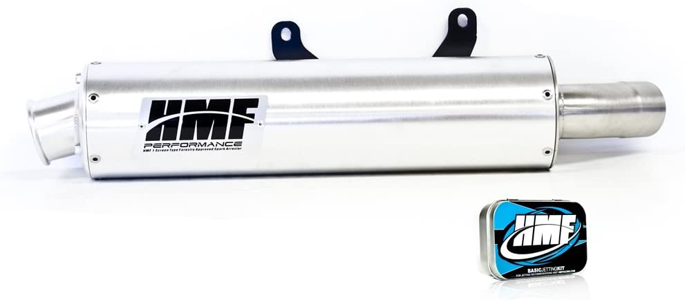 HMF Yamaha YFZ 450 2004-2009 Slip On Exhaust Round /& Jet Kit