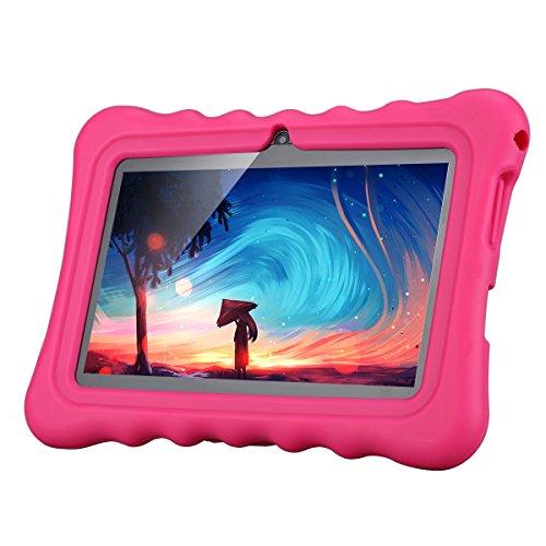 Ainol Q88 Android 7.1 RK3126C Quad Core 1GB+16GB 0.3MP+0.3MP Cam WiFi 2800Ah Tablet PC--Pink by Ainol Q88