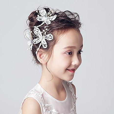 Accessori Per Capelli Da Sposa E Da Sposa I bambini di acconciatura di  capelli accessori ragazze ... dc7ddc01c39