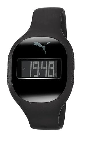 Puma Time PU910921001 - Reloj para hombres, correa de goma color negro: Amazon.es: Relojes