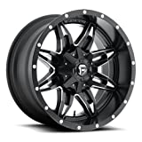 Fuel Offroad D567 Lethal 20x9 6x135/6x139.7 +1mm Black/Milled Wheel Rim