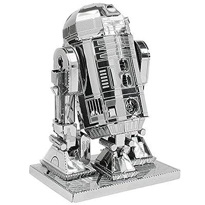 Metal Earth 3D Model Kits Star Wars Set of 2 Millennium Falcon & R2-D2