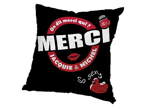 JACQUIE & MICHEL 546539 Funda de cojín 60x60 cm Jacquie et ...