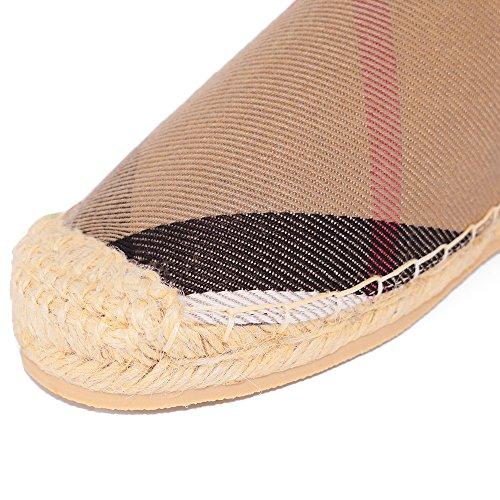 Tengyu Flats Shoes Women's Espadrilles Original Slip On Loafer Shoes Classic Canvas Comfort Alpargatas(US8=EU39=24.5CM) by Tengyu (Image #6)