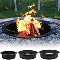Sunnydaze Heavy Duty Fire Pit Rim, Make ...