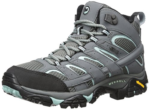 Merrell Women's Moab 2 Mid GTX Hiking Boot, Sedona Sage, 8 M US