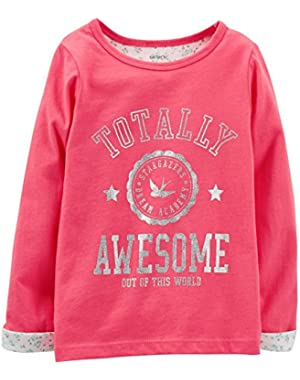Baby Girls' Graphic Tee (Baby) - Coral