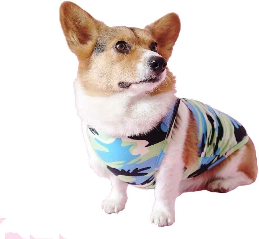 Large, Camo Pink Anlitent/Summer/Dog/Vest/for/Small/Dog/Puppy,/Pullover/Breathable Pet Shirts Super Cute Puppy Soft Sweatshirt