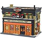 Department 56 Christmas in The City Village Otto's Harley Tavern Lit House, 5.91-Inch