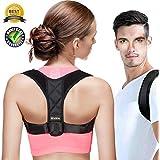 Posture Corrector for Men&Women Comfortable-Adjustable Shoulder&Back Brace Support Improve Upper Back Shoulder Posture