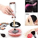impurities Makeup Brush Cleaner for All Size Makeup Brushes Cleaning - Automatic Wash and Dry Makeup Brushes in Seconds Remove Surface Makeup, Oil, and Impurities from Brushes MAILIN