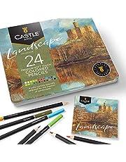 Castle Arts Themed 24 Color Pencil Sets