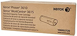 Xerox Black Toner Cartridge For The Phaser 3610 Or Workcentre 3615 (106r02720)