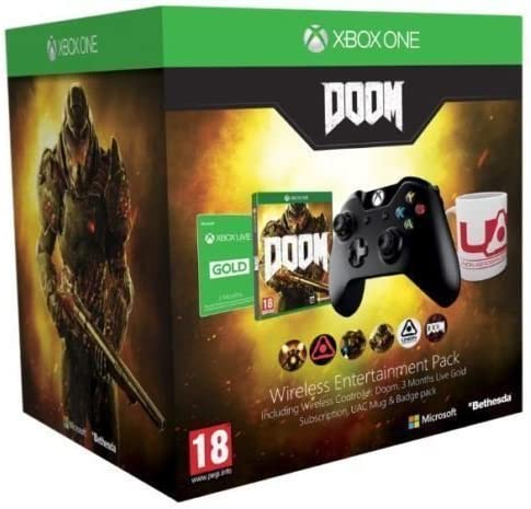 Doom Wireless Entertainment Pack Xbox One by Bethesda: Amazon.es ...