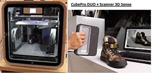 Impresora 3D (CubePro Duo + Scanner 3D Sense: Amazon.es: Informática