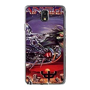 Samsung Galaxy Note3 NJS13254bVBK Custom Colorful Judas Priest Band Pictures Scratch Protection Hard Phone Covers -SherriFakhry