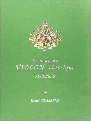 Lire un Nouveau violon classique vol.G pdf