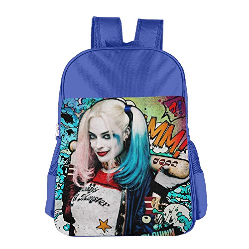 STALISHING Kid's Harley Quinn Suicide Squad 2 School Bag Backpack (Harley Quinn Children)