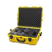 Nanuk 945 Waterproof Hard Drone Case with Custom Foam Insert for DJI Phantom 4/ Phantom 4 Pro (Pro+) / Advanced (Advanced+) & Phantom 3 - Yellow