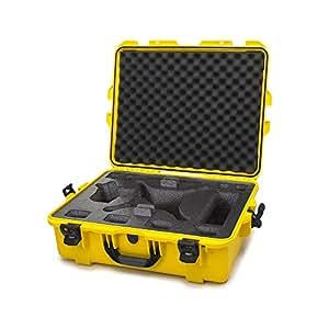 Nanuk DJI Drone Waterproof Hard Case with Custom Foam Insert for DJI Phantom 4/ Phantom 4 Pro (Pro+) / Advanced (Advanced+) & Phantom 3 - 945-DJI44 Yellow