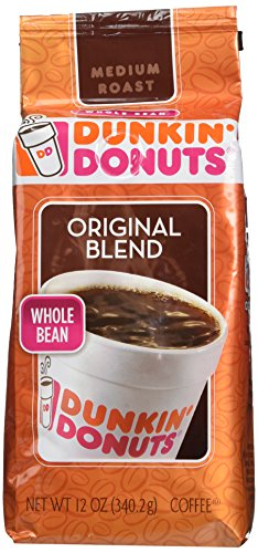 Dunkin' Donuts - Whole Bean - Original Blend - 12oz (Pack of 2)