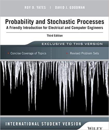 Amazon probability and stochastic processes a friendly amazon probability and stochastic processes a friendly introduction for electrical and computer engineers 9781118808719 roy d yates fandeluxe Choice Image