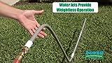 BEST Watering Sprinkler for Lawns and Gardens – Water Jets Magically Hold Sprinkler Up – Effortless Lawn & Garden Watering
