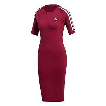 Adidas 3 Stripes Vestido, Mujer, Rosa (rubmis), 28