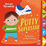 Potty Superstar: A potty training book for boys (Toddler Triumphs)