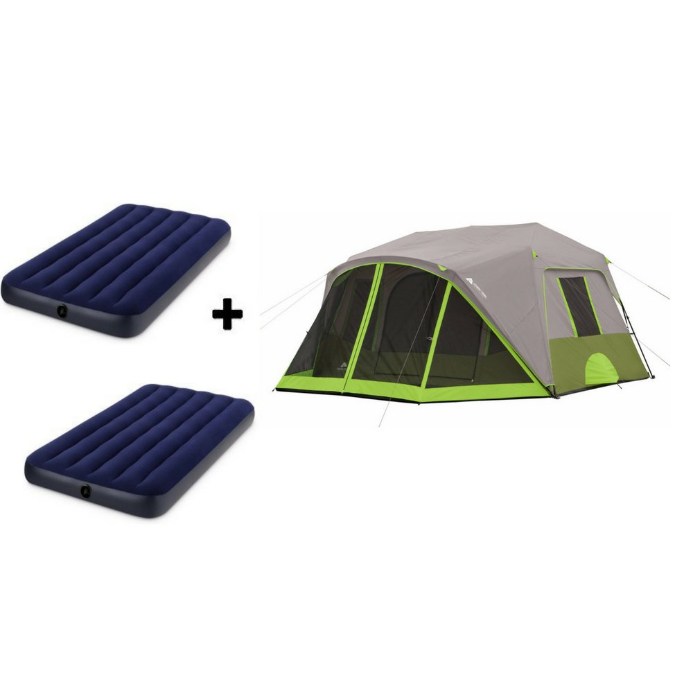 e6c55ec75d Amazon.com : Ozark Trail.. Spacious Family Sized Weather Resistant Cabin/Family  Tents : Sports & Outdoors