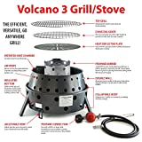 Volcano Grills 3-Fuel Portable Camping Stove/Fire