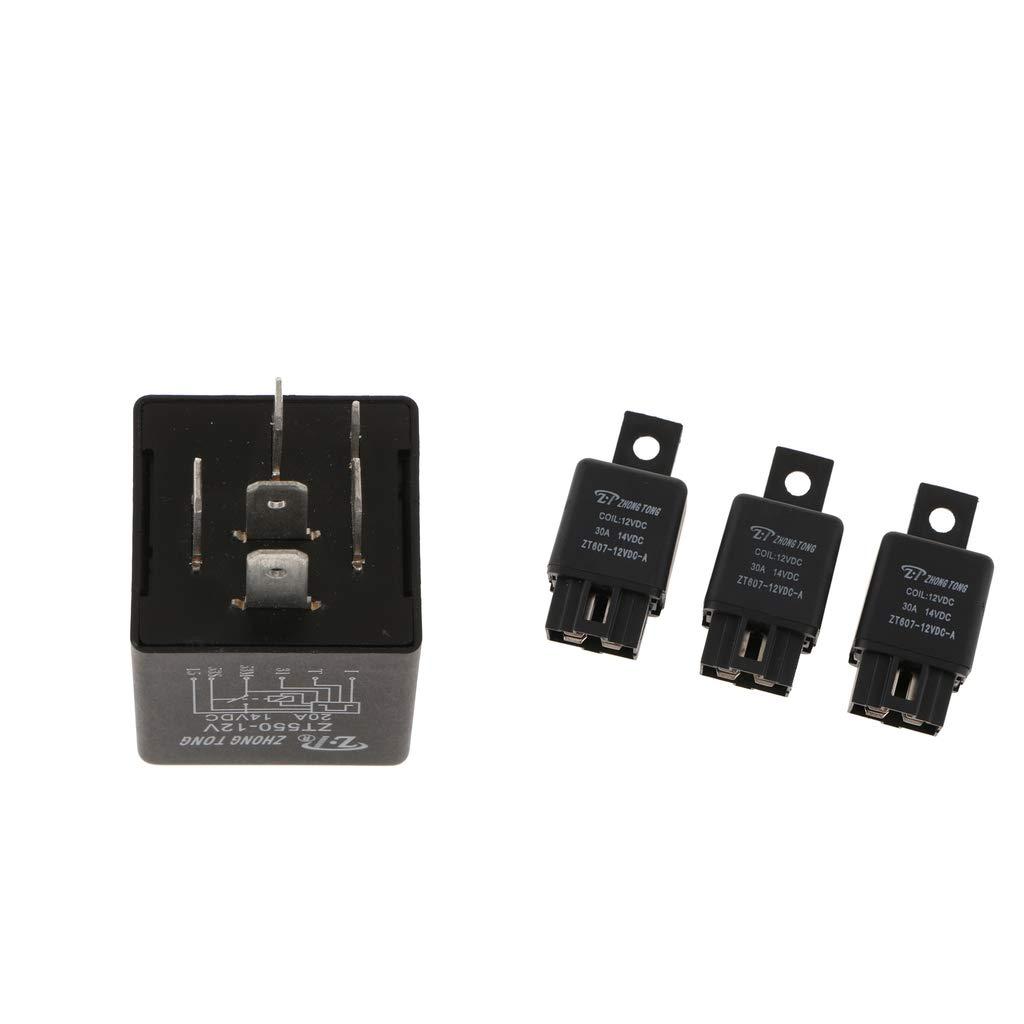 Homyl Relé de Limpiaparabrisas ZT550-DC12v ZT607 Circuitos Impresos Herramientas Manual: Amazon.es: Bricolaje y herramientas