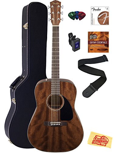 fender-cd-60s-dreadnought-acoustic-guitar-all-mahogany-bundle-with-hard-case-tuner-strap-strings-pic